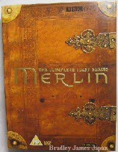 MERLIN シリーズ1UK版コンプリートDVD-BOX 外ケース表