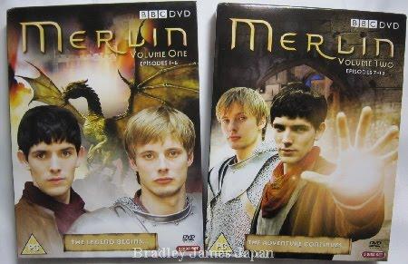 MERLIN シリーズ1UK版コンプリートDVD-BOX Vol.1