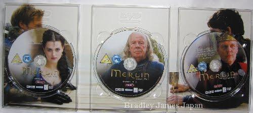 MERLIN シリーズ1UK版コンプリートDVD-BOX Vol.2